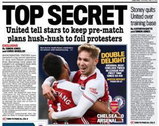 Thursday's back pages: Mail - 'Top secret'