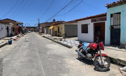 Firmino's childhood home