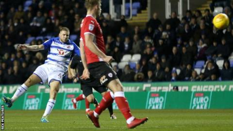 Reading 3-0 Barnsley - BBC Sport