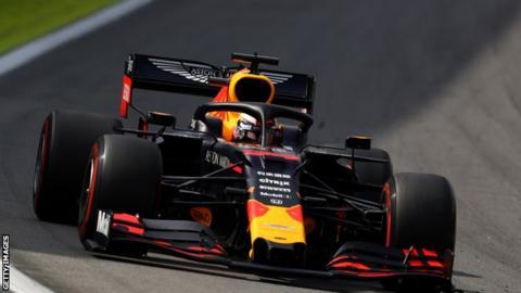 sport Red Bull driver Max Verstappen