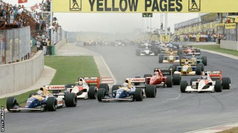 Image result for 1992 South African Grand Prix