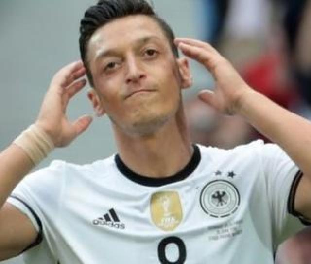 Ozil Capped  Times By Germany Announced He Has Quit International Football