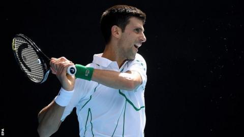 sport Novak Djokovic