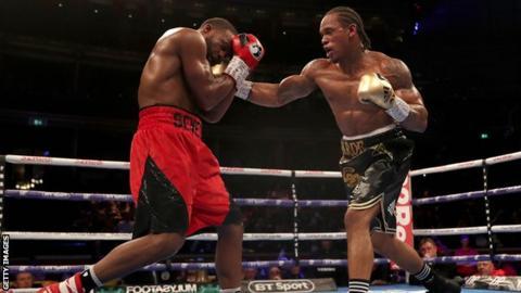 Anthony Yarde fighting Travis Reeves