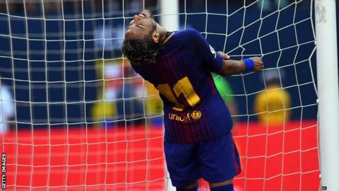 Barcelonas Neymar