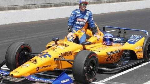 Image Result For Fernando Alonso Fails To Qualify For Indianapolis