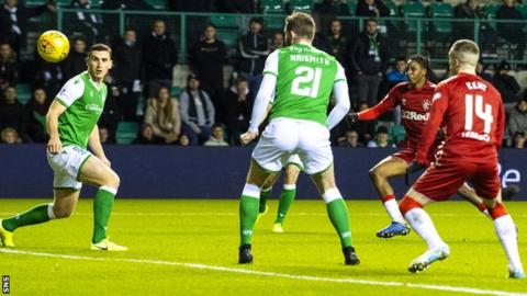 Aribo doubled Rangers' lead in the opening 10 minutes