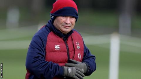 England rugby union coach Eddie Jones