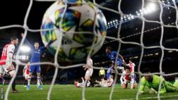 Goal at Chelsea v Ajax in the Champions League