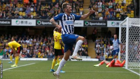 Brighton had failed to win any of their previous nine Premier League games
