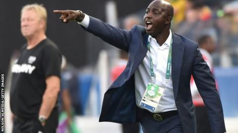 Image result for Siasia Gives NFF Two Weeks Ultimatum To Pay His Salaries Or He Will SIT Inside Their Office Till He Gets PAID