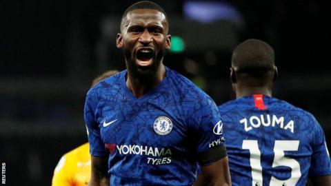 Chelsea's Antonio Rudiger