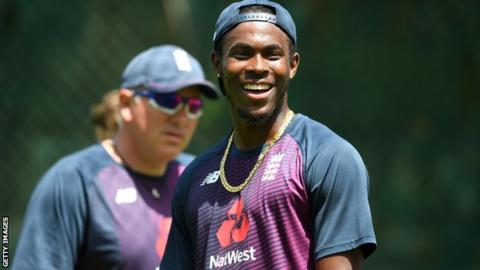 sport England fast bowler Jofra Archer