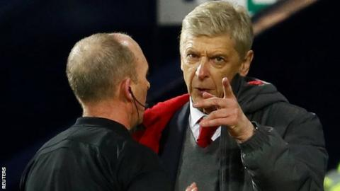 Image result for Wenger gets 3-match touchline ban for abusive behaviour
