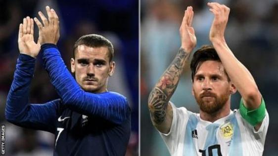Image result for 2018 World Cup france vs argentina
