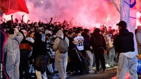 PSG fans