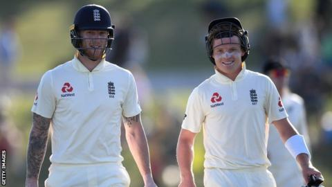 Ben Stokes and Ollie Pope