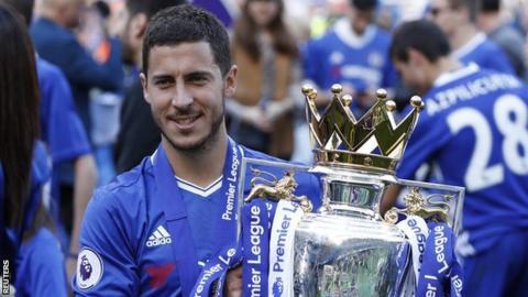 Chelsea forward Eden Hazard