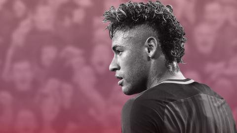 Neymar Signed with Paris St-Germain for 222m Euros