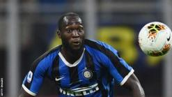 Inter Milan striker Romelu Lukaku