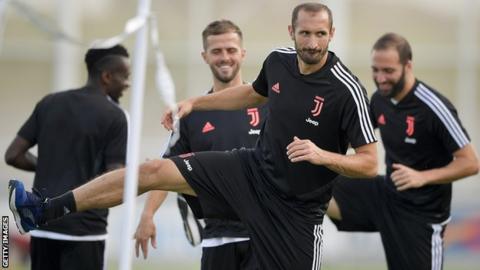 Juventus captain Giorgio Chiellini