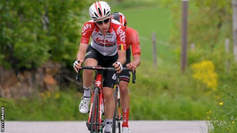 Image result for Belgian Cyclist Bjorg Lambrecht