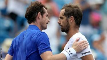 Andy Murray and Richard Gasquet