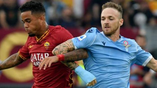 Image result for photos of lazio vs roma
