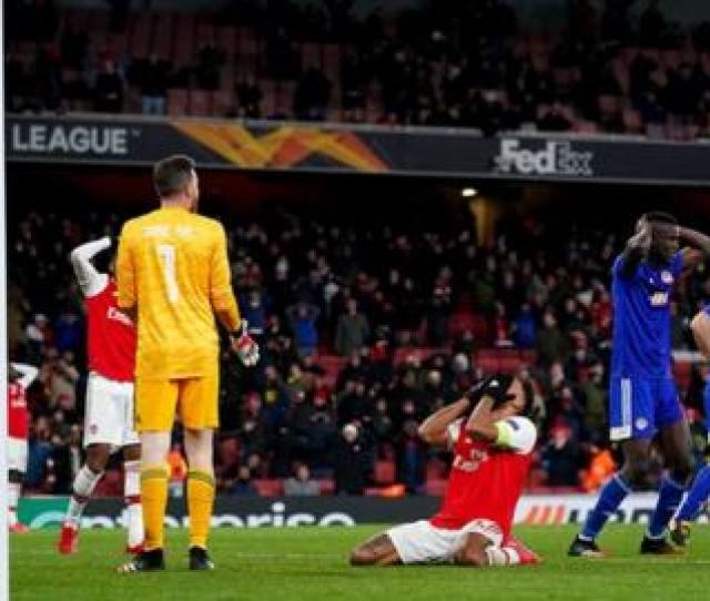 Arsenal   Olympiakos Agg   Aet Gunners Knocked Out By Last