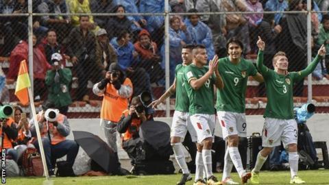 Bolivia celebrate