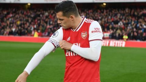 Arsenal's Granit Xhaka