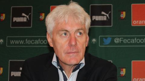 New Cameroon coach Hugo Broos