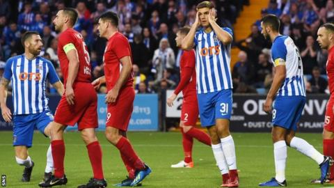 Kilmarnock could not take the chances they created