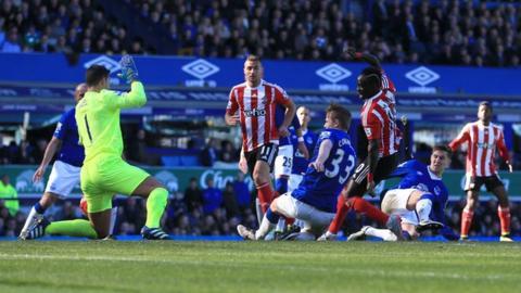 Everton 1-1 Southampton - BBC Sport