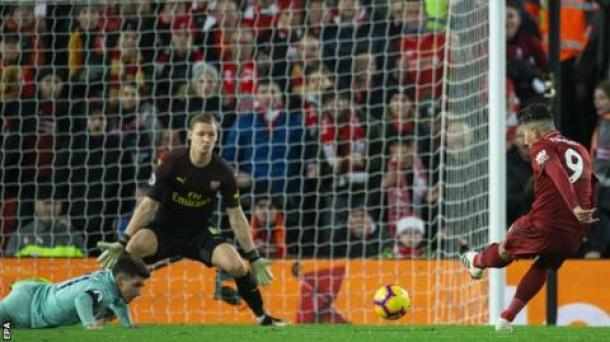 Image result for bernd leno liverpool 5-1 arsenal