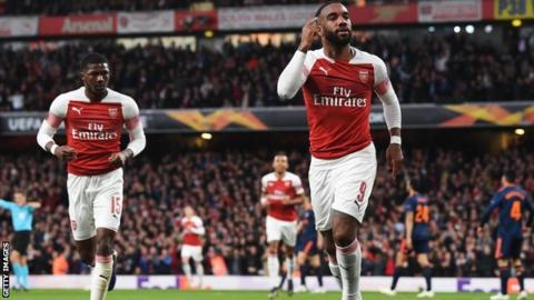 Image result for lacazette goal valencia
