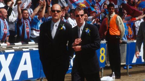 Gwyn Williams (left) and Graham Rix (right) worked together at Chelsea during the 1990s
