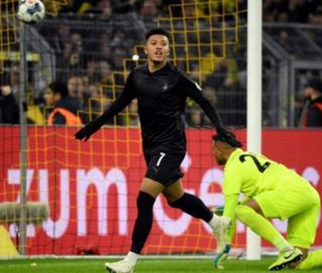 Borussia Dortmund   Fortuna Dusseldorf Jadon Sancho Scores