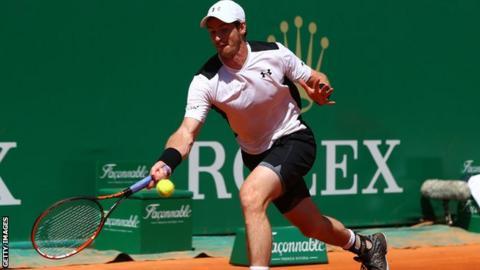 Murray progresses to round three win in Monte Carlo Masters