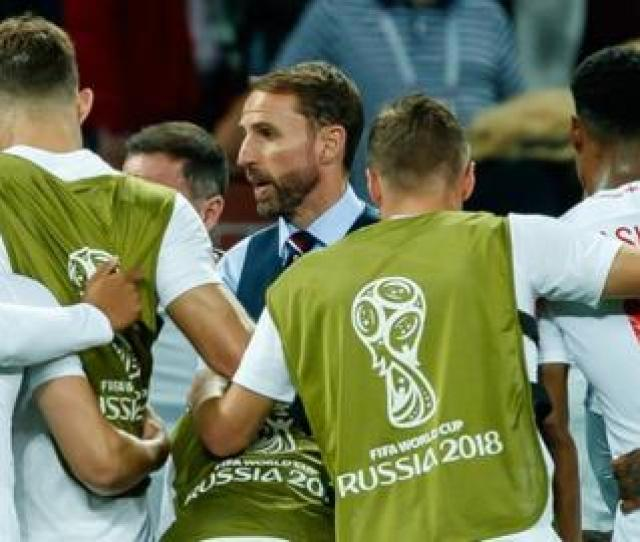 Gareth Southgate And His England Players