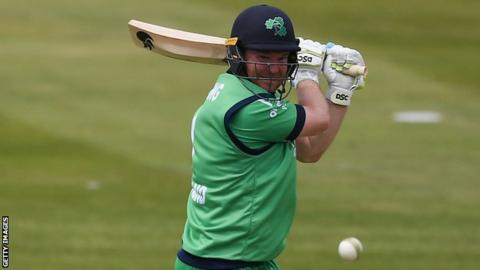 Paul Stirling smashed eight sixes and six fours in his 95 off 47 balls