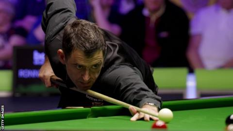 Ronnie O'Sullivan at the UK Championship