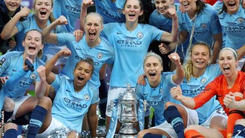 sport Manchester City celebrate