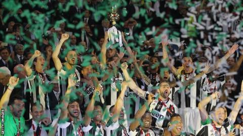Juventus win Coppa Italia