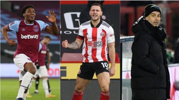 Oladapo Afolayan, Billy Sharp, Pep Guardiola