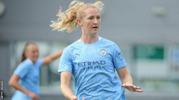 Manchester City midfielder Sam Mewis