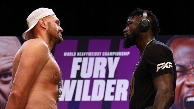 , Joshua backs 'obsessed' Wilder to knock out Fury, The Evepost BBC News