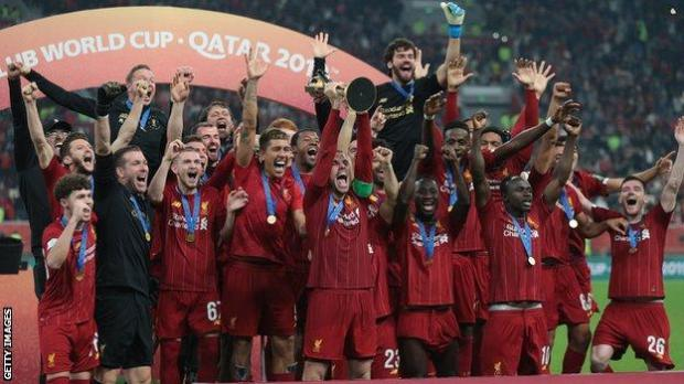 Liverpool lift the Club World Cup in 2019