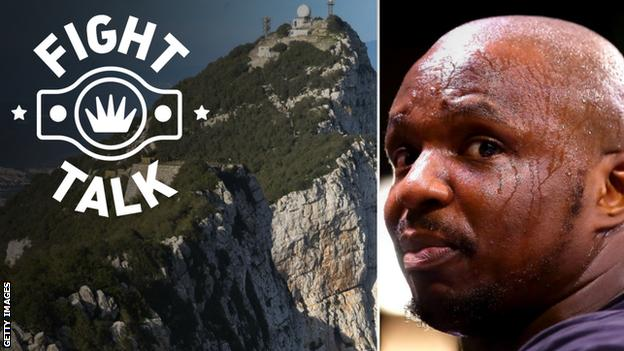 Dillian Whyte and the Rock of Gibraltar