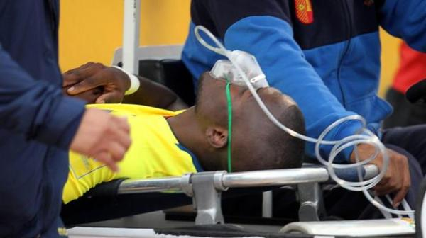 Enner Valencia: Everton striker chased by police - BBC Sport